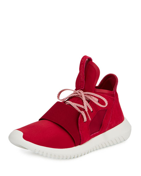 Tubular Defiant High-Top Sneaker, Unity Pink/Off White