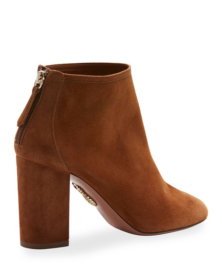 Downtown Suede 85mm Bootie