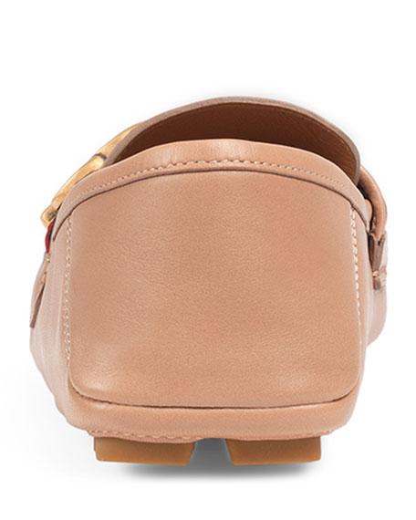 Noel Leather Web Loafer