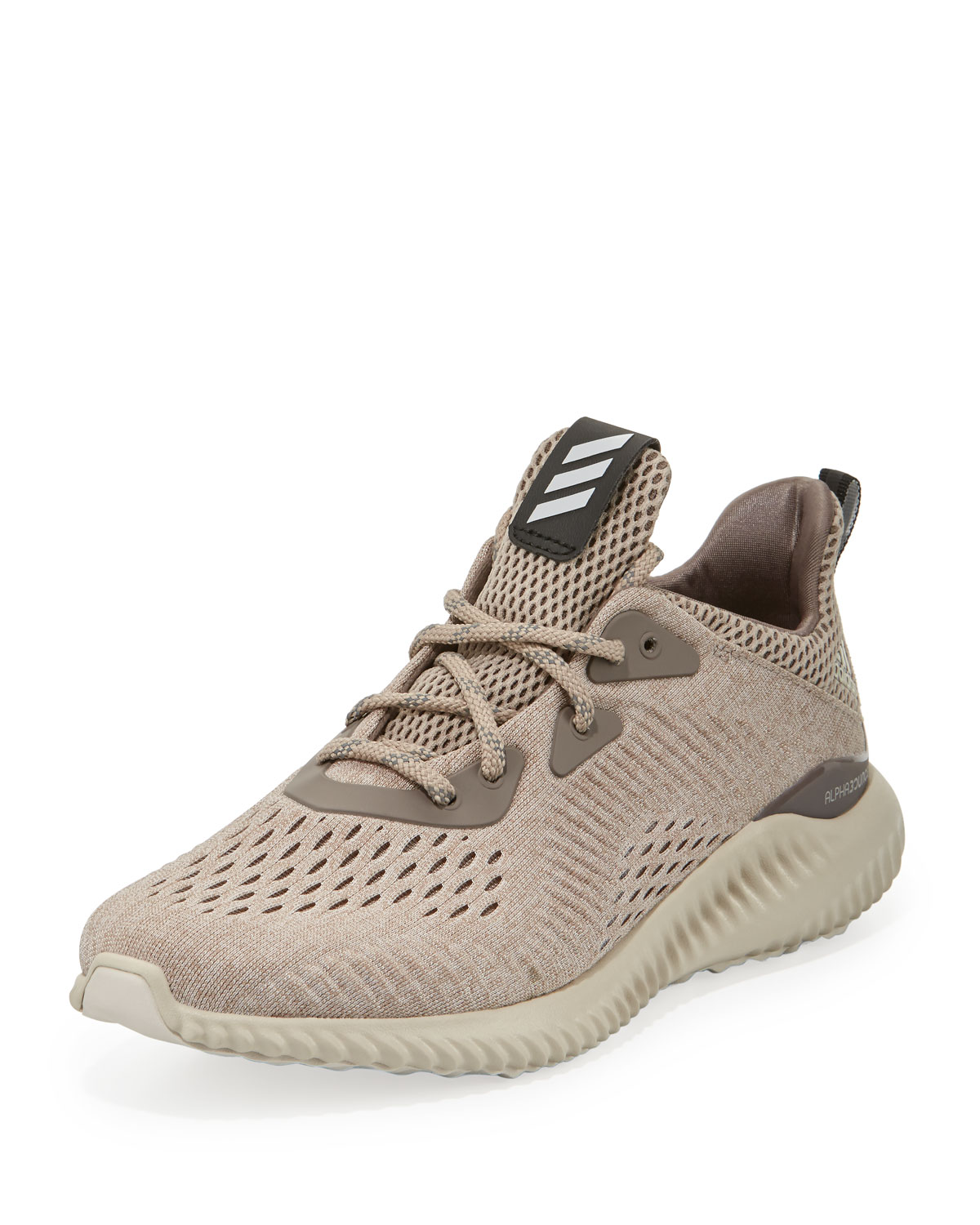 great fit 5a1c7 6ebc5 Alphabounce Engineered Mesh Sneaker, Tech EarthClear BrownCrystal White