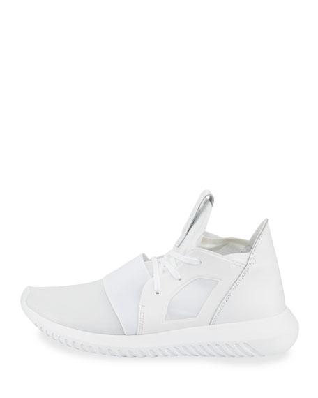 Adidas Tubular Defiant High-Top Sneaker, Running White