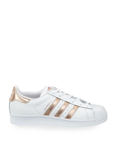 adidas superstar original fashion sneaker white rose gold. Black Bedroom Furniture Sets. Home Design Ideas
