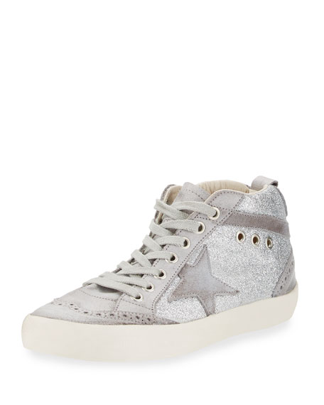 Mid Star sneakers - Grey Golden Goose Cyl0mvx
