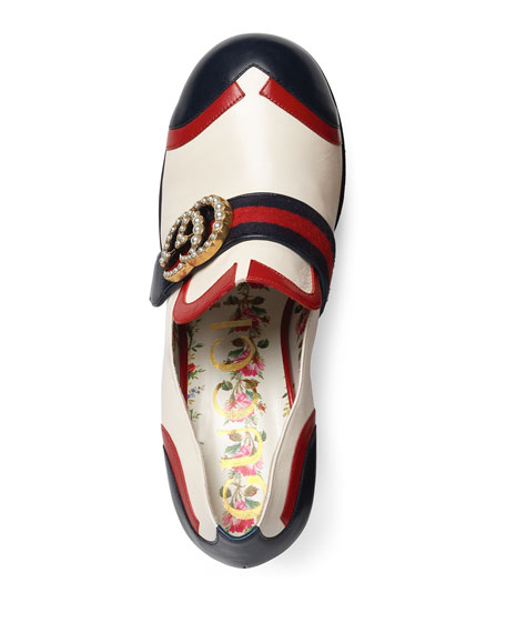 Brenda Colorblock Platform Loafer, Multi