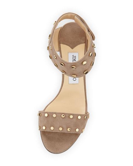 Veto Studded Suede 100mm Sandal