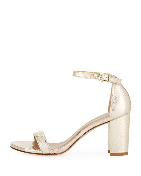 Nearlynude Metallic 55mm Sandal, Cava