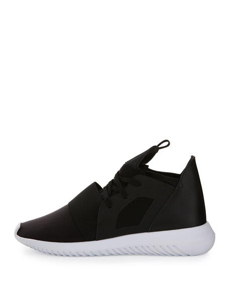 Tubular Defiant High-Top Sneaker, Core Black/Running White