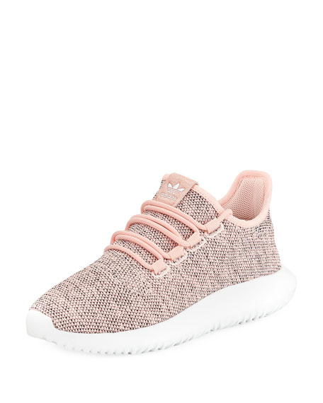 Adidas Tubular Shadow Knit Sneaker, Pink