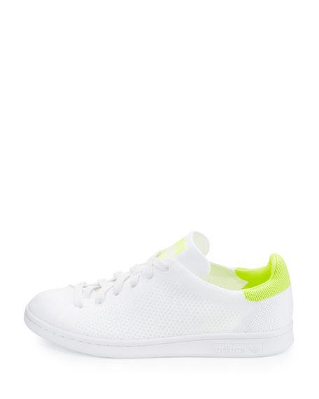 Stan Smith Primeknit Sneaker, White/Lime