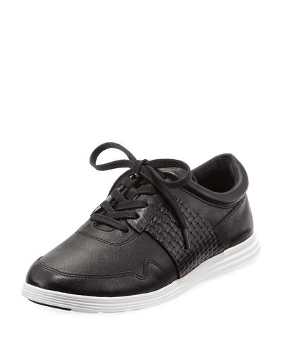 Misha Grand Sport Oxford Sneaker, Black