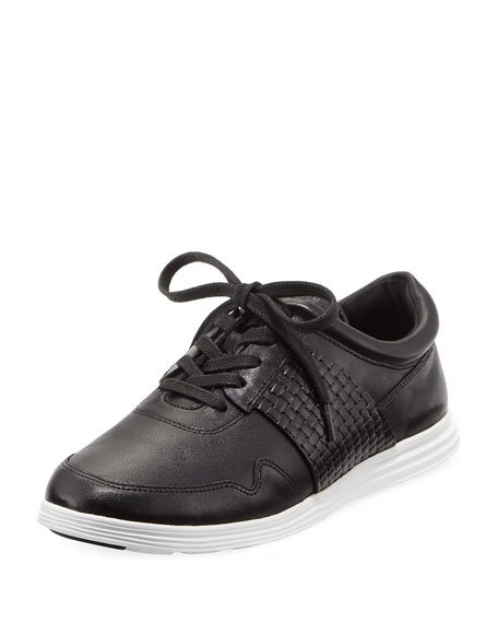 Misha Grand Sport Oxford Sneaker, Black