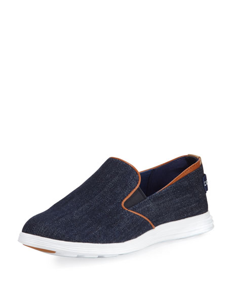 Cole Haan Ella Grand 2 Slip-On Sneaker, Blue