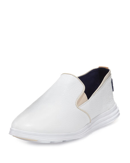 Cole Haan Ella Grand 2 Slip-On Sneaker, White