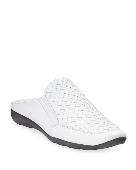 Giana Woven Leather Mule