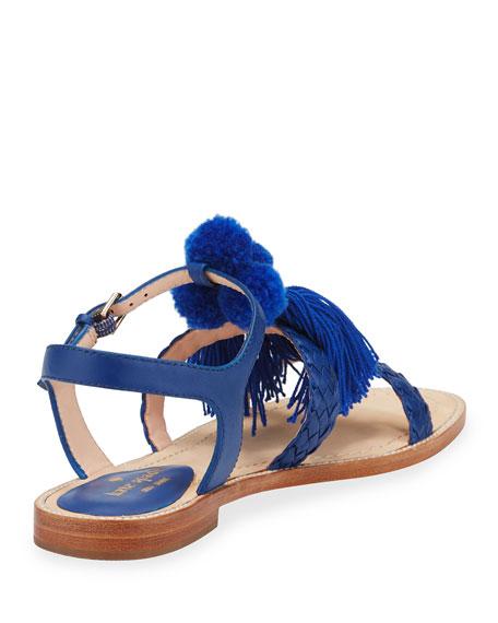 sunset tassel strappy sandal