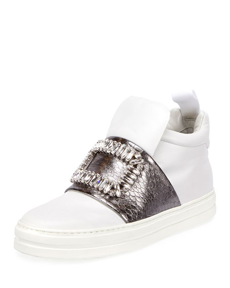 Sneaky Viv High-Top Sneaker, White