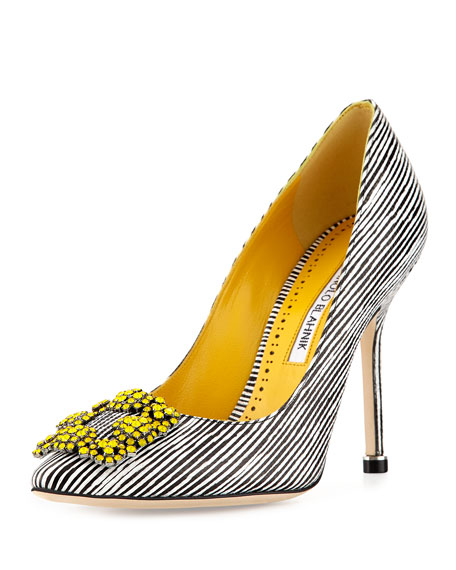 Hangisi 105mm Snakeskin Pump