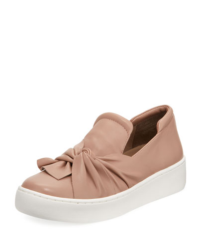 Celest Ruching Knotted Sneaker