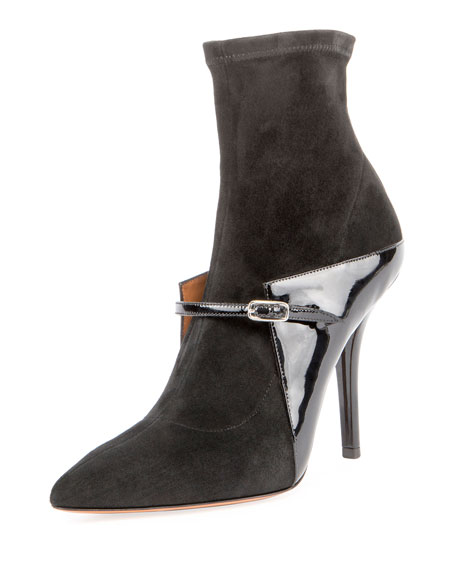 New Feminine Ankle Boot, Black