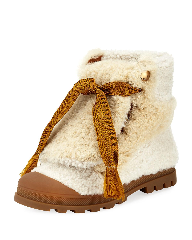 Chloé Parker flat ankle boots X9LSYe