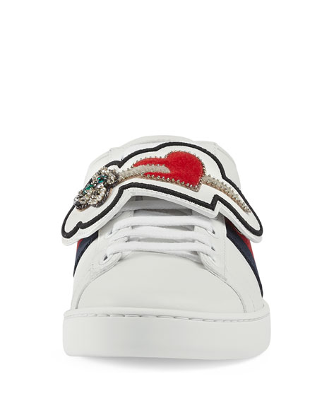 New Ace Number 25 Sneakers, White
