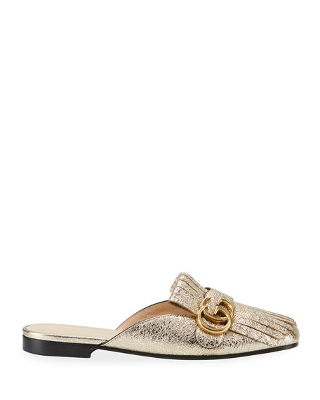 10mm Marmont Metallic Mule