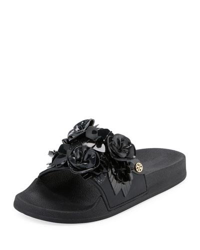 Blossom Flower Slide Sandal