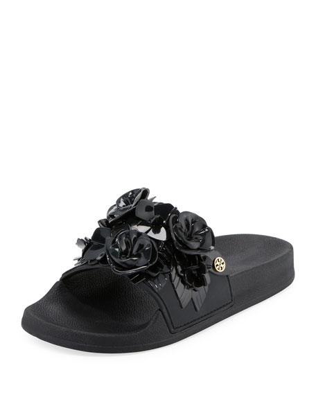 Tory Burch Blossom Flower Slide Sandal
