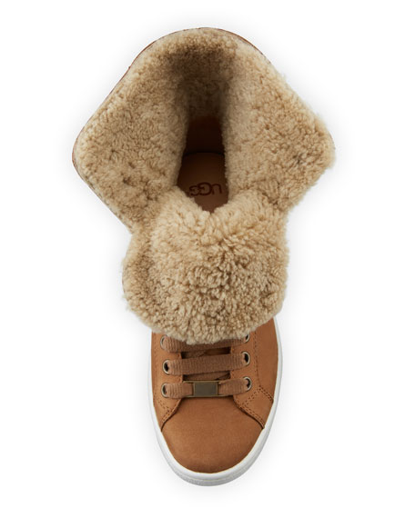 Starlyn Shearling High-Top Sneakers