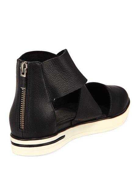 Carver Crisscross Leather Sneaker