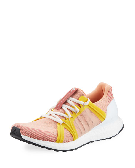 Stella McCartney Pink Swift Run Knit Sneakers comfortable cheap price outlet genuine discount exclusive GfJYXjs