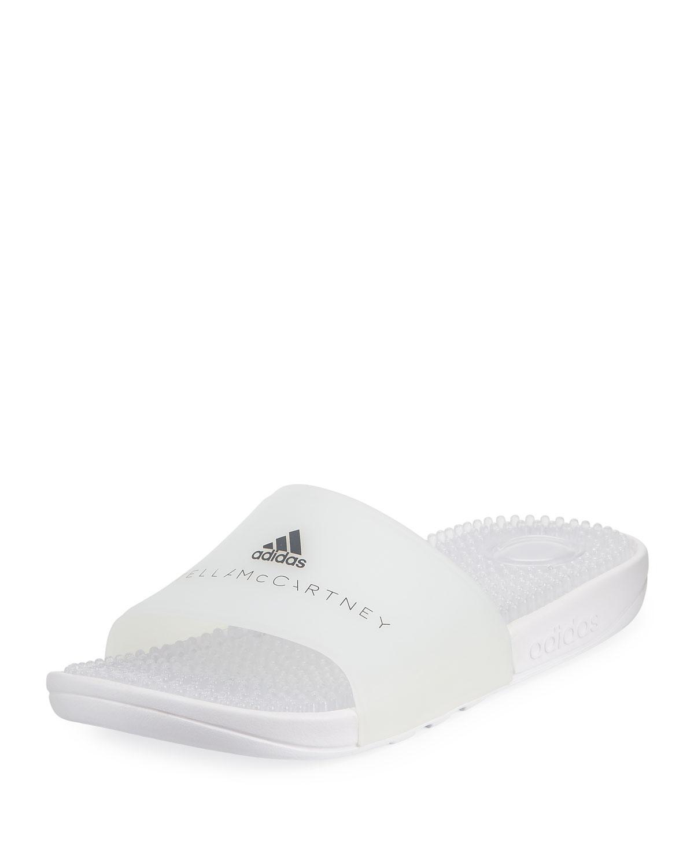 5258fbfb918f adidas by Stella McCartney Adissage Rubber Flat Pool Sandal