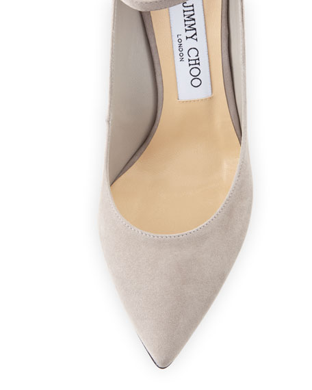 South Suede Fur Pompom Pump