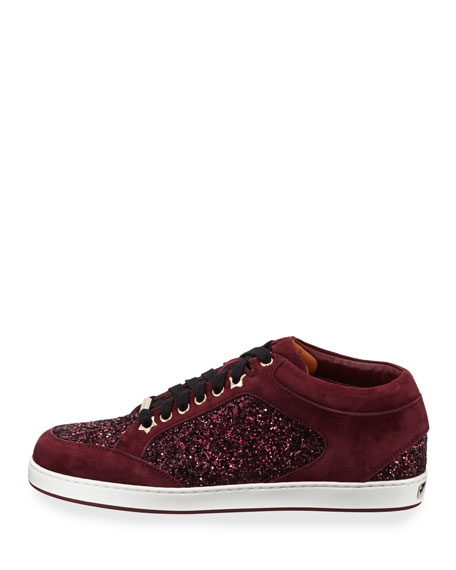 Miami Glitter Low-Top Sneaker