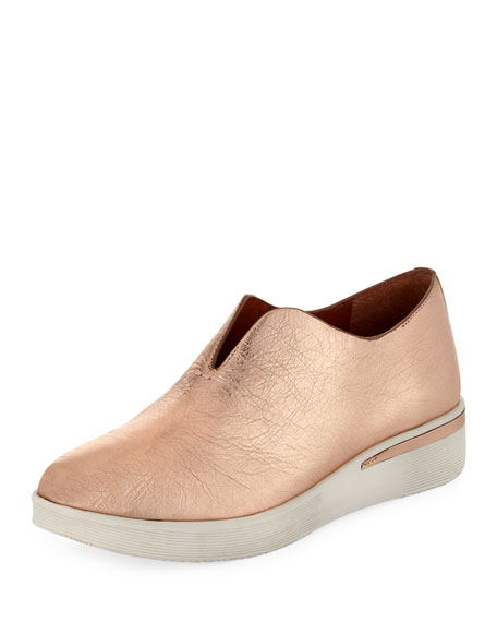 Gentle Souls Hanna Slip-On Metallic Sneaker