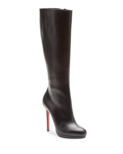 Botalili Tall Red Sole Boot