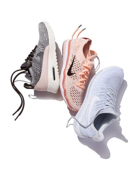 LunarEpic Low Flyknit 2 Sneakers, White
