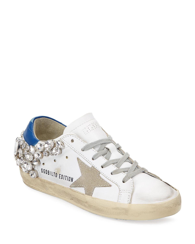 4821d58dcbb8 Golden Goose Superstar Embellished Star Sneaker