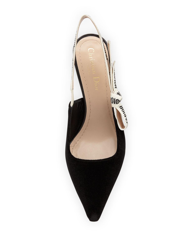 Dior J'Adior Velvet Slingback   Neiman