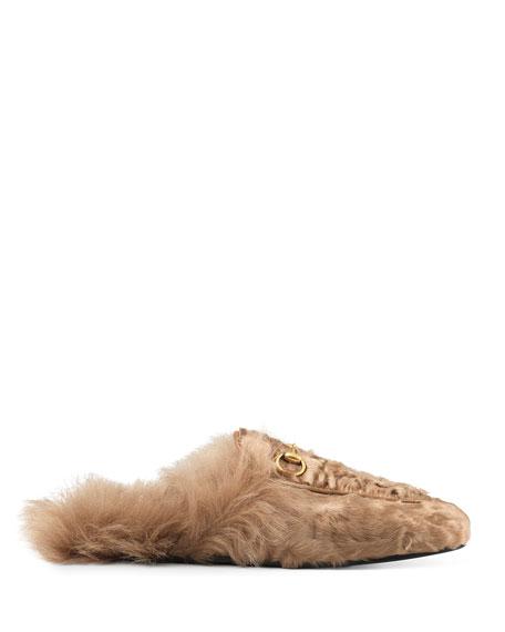10mm Princetown Shearling Fur Loafer
