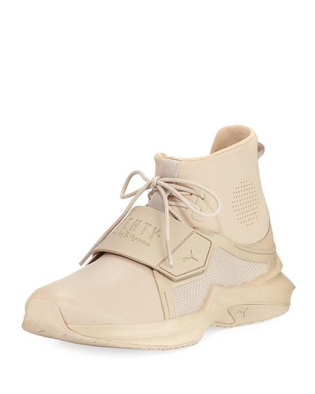 The Trainer Hi Sneaker