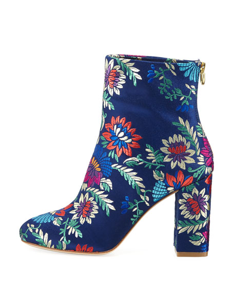 Saleema Brocade 90mm Bootie