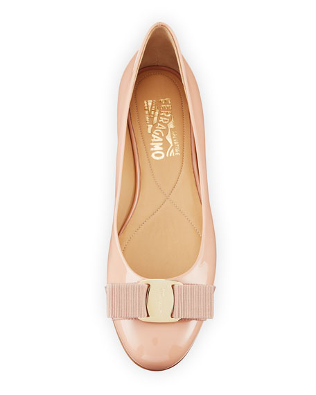 Varina Patent Ballet Flats, New Blush