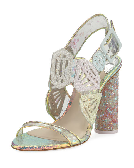 Sophia Webster Diamond Girl Gem Sandal