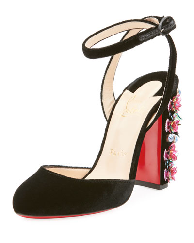 Madonaflor Red Sole Pump