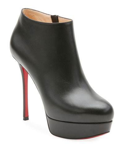 Dirdi Calf Platform Red Sole Booties