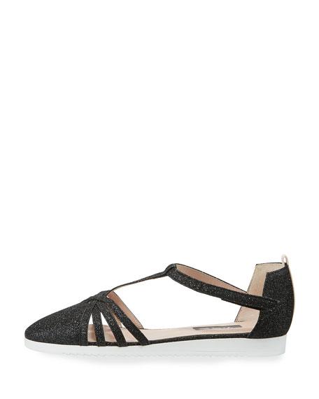 Carrie Meteor Glitter Sneaker Sandal