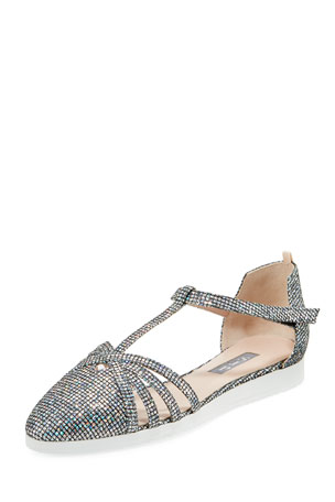 SJP by Sarah Jessica Parker Meteor Carrie Holographic Sneakers Sandal
