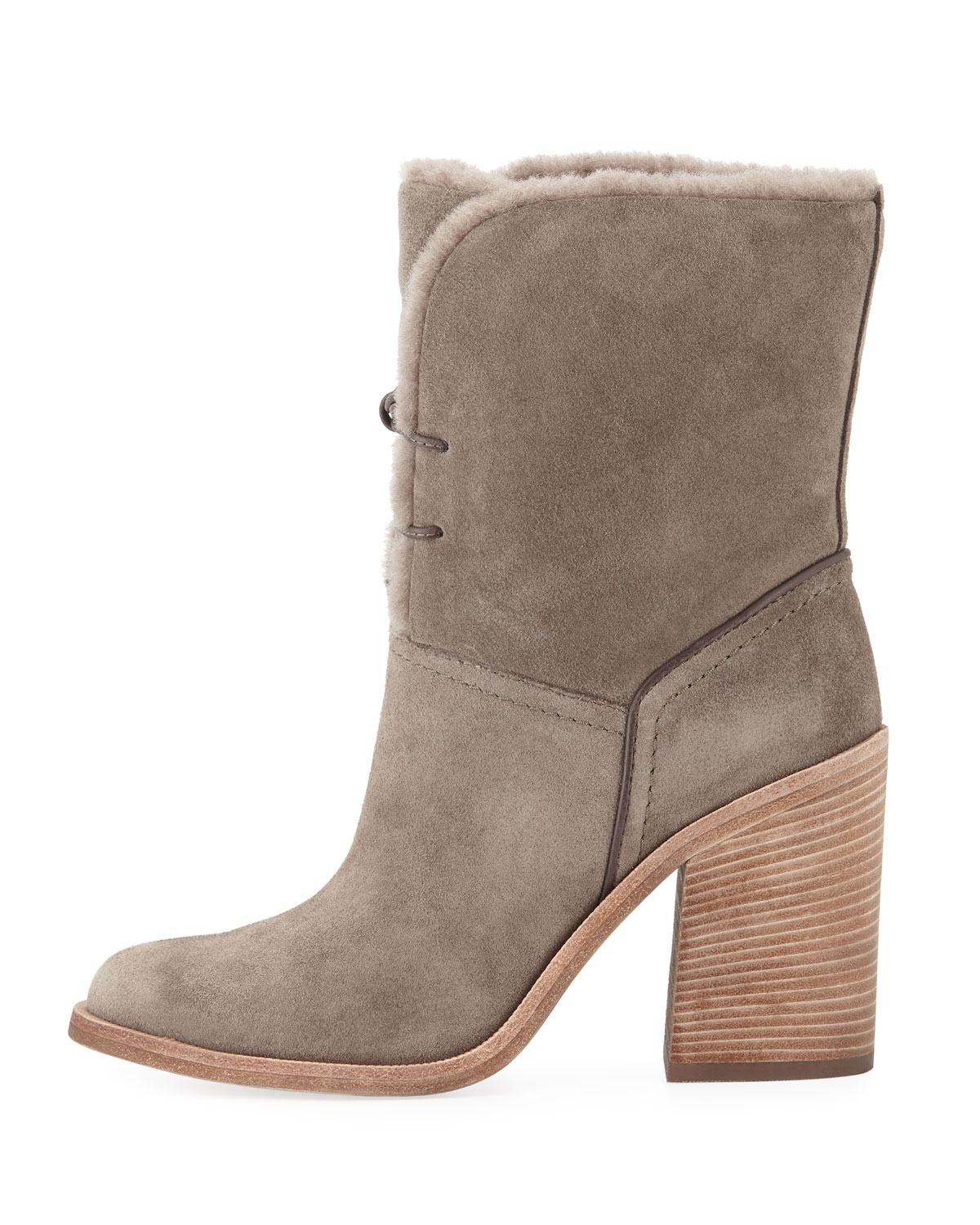 387b49cb427 Jerene Shearling-Lined Ankle Bootie