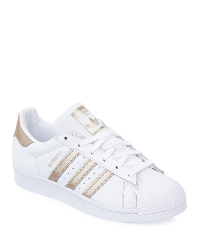 Adidas Superstar Lace-Up 3-Stripes&#174 Sneaker